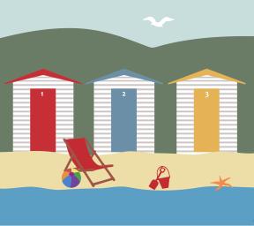 Beach-Scene