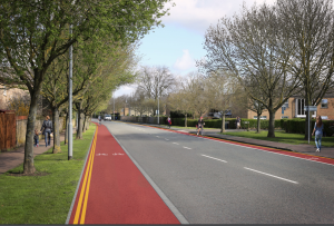 Histon Road visualisation